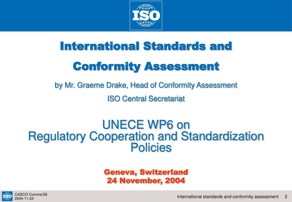 International Standards and