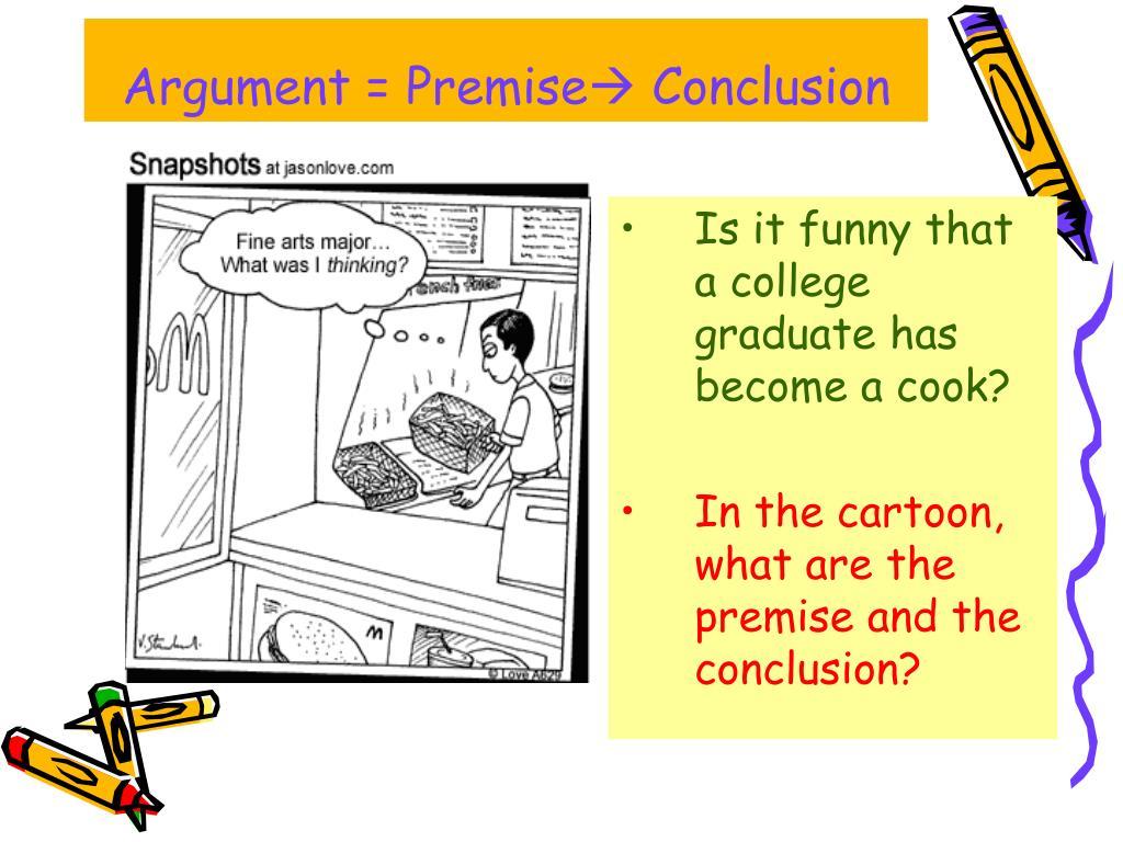 Argument = Premise