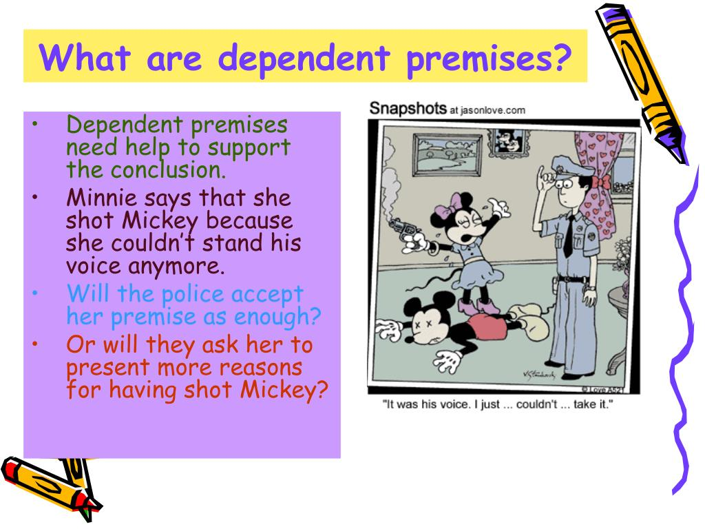 What are dependent premises?