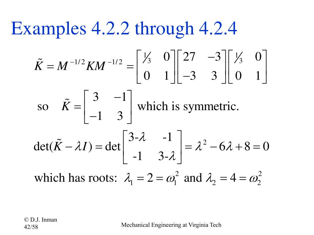 Examples 4.2.2 through 4.2.4