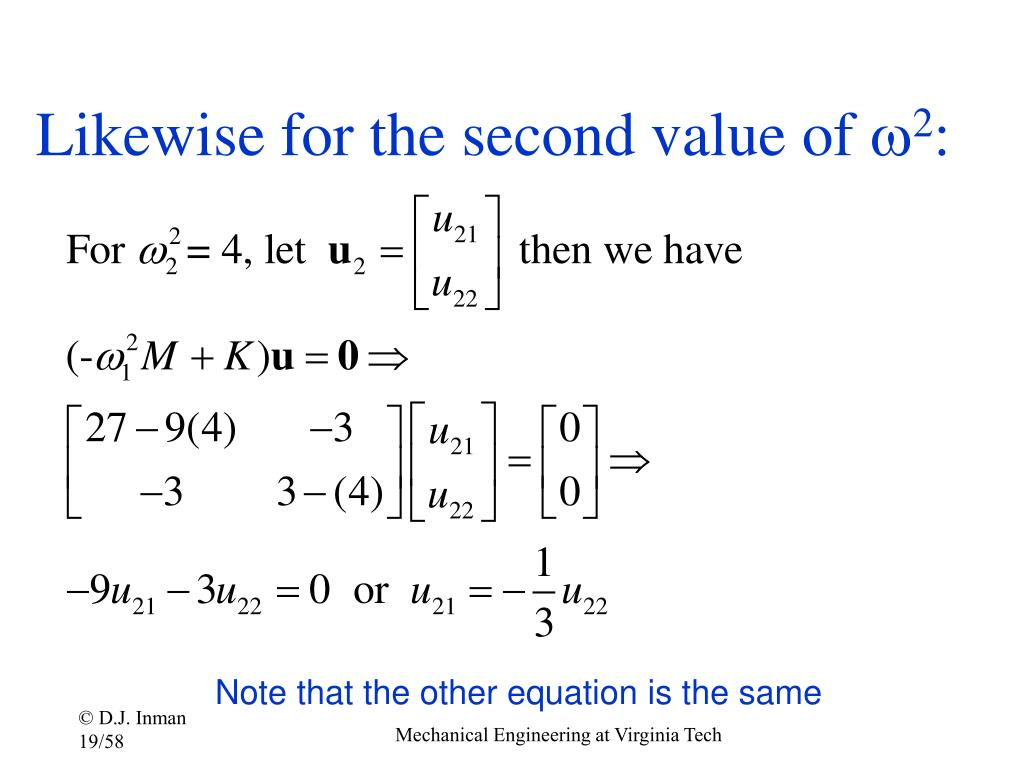 Likewise for the second value of