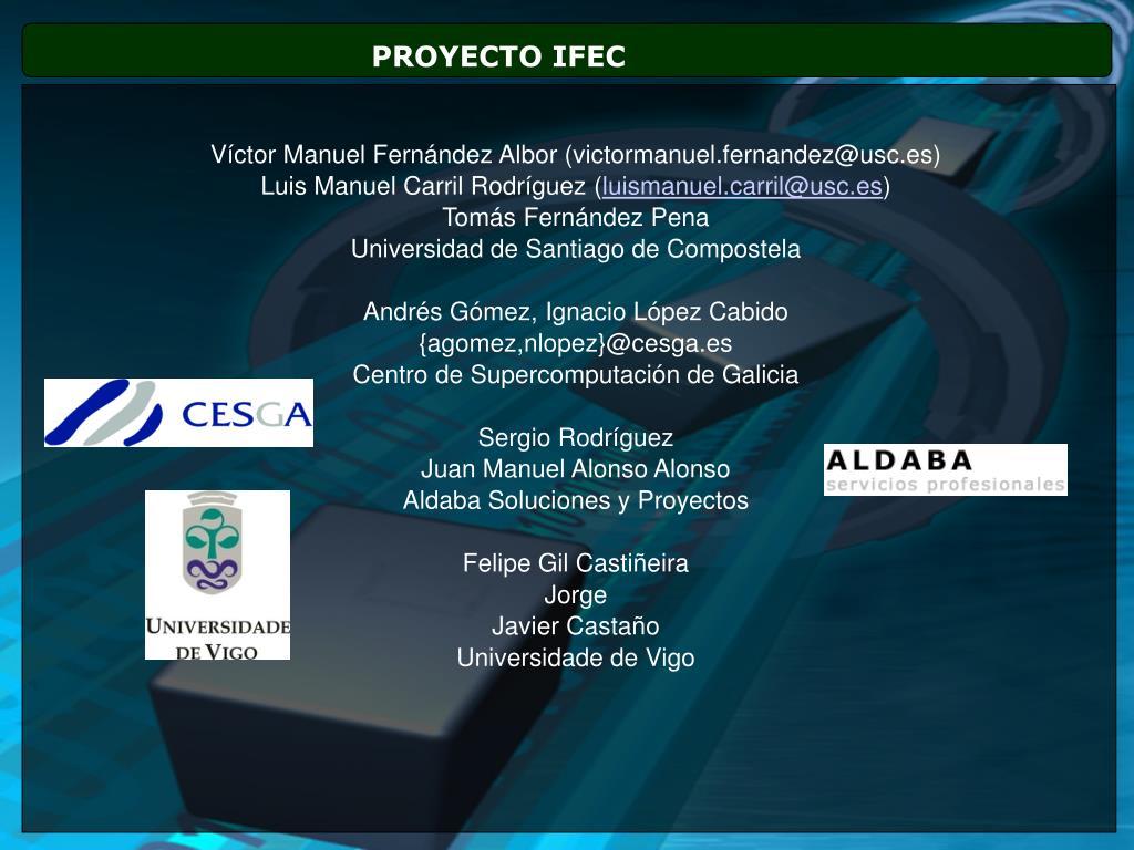 PROYECTO IFEC