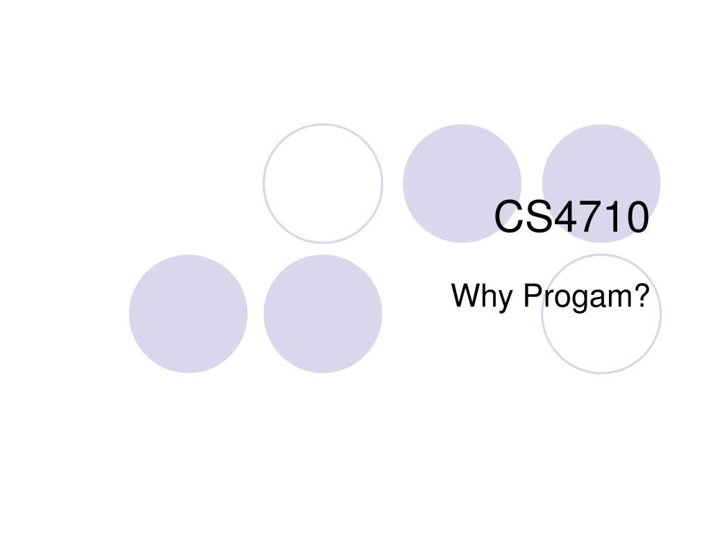 CS4710
