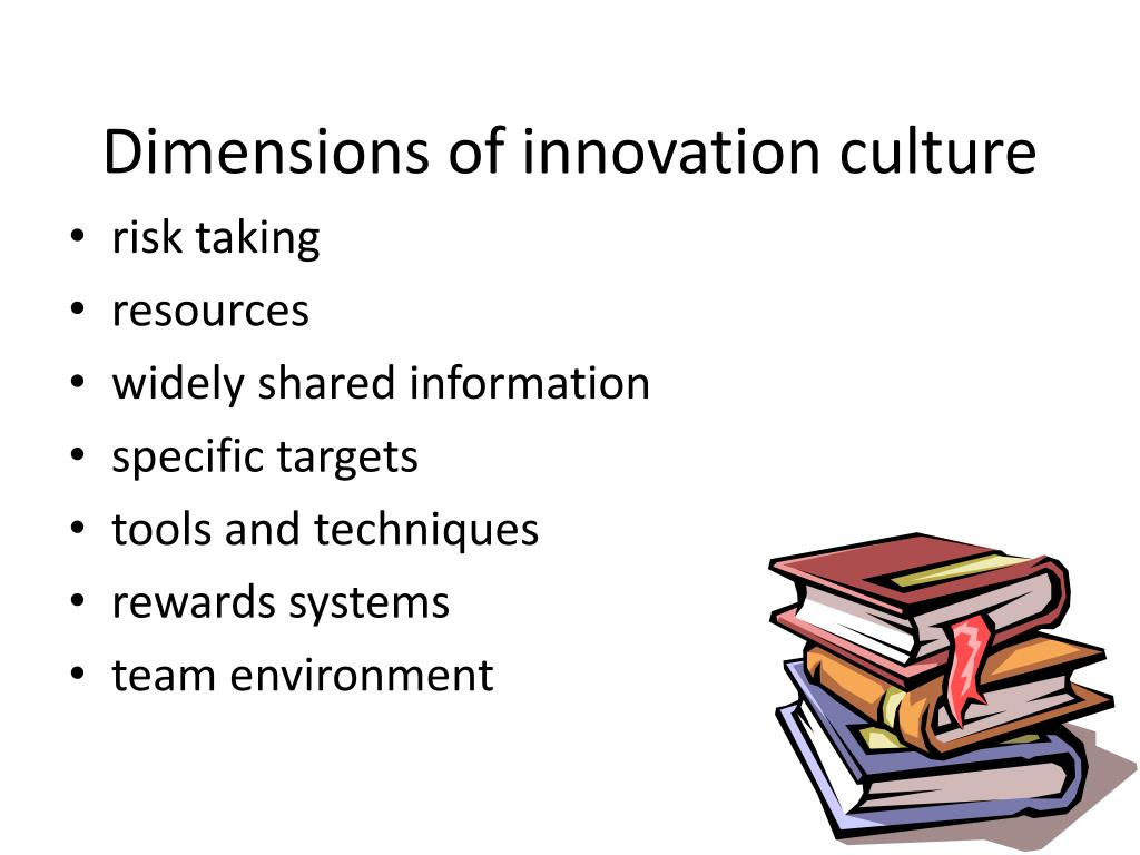 Dimensions of innovation culture