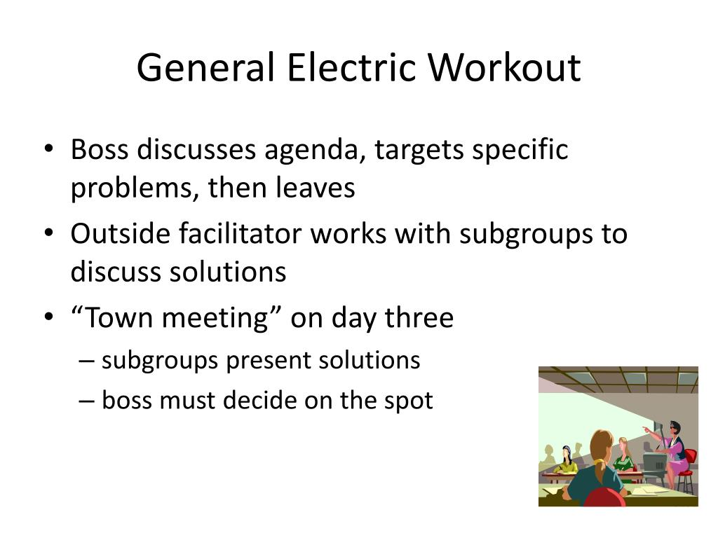 General Electric Workout