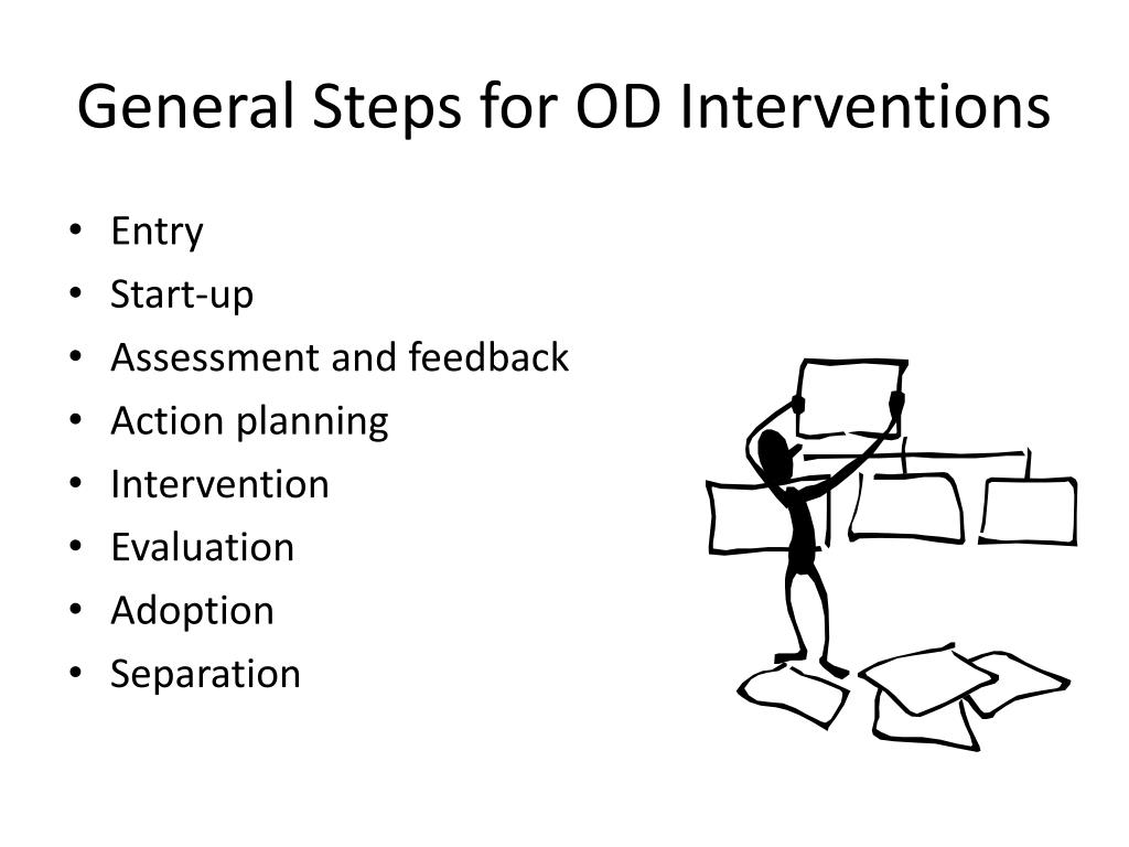 General Steps for OD Interventions