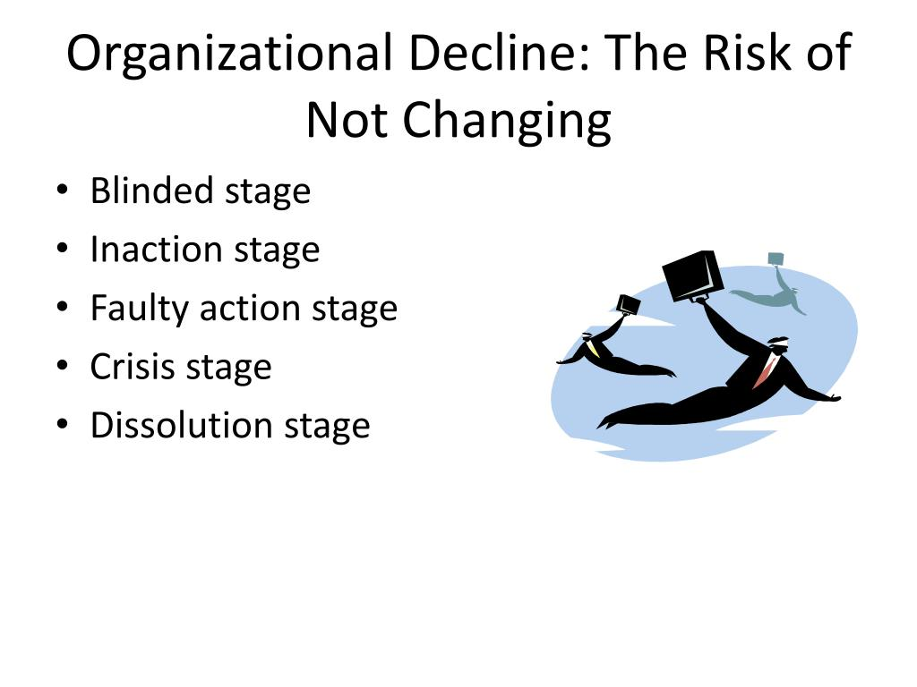 Organizational Decline: The Risk of Not Changing