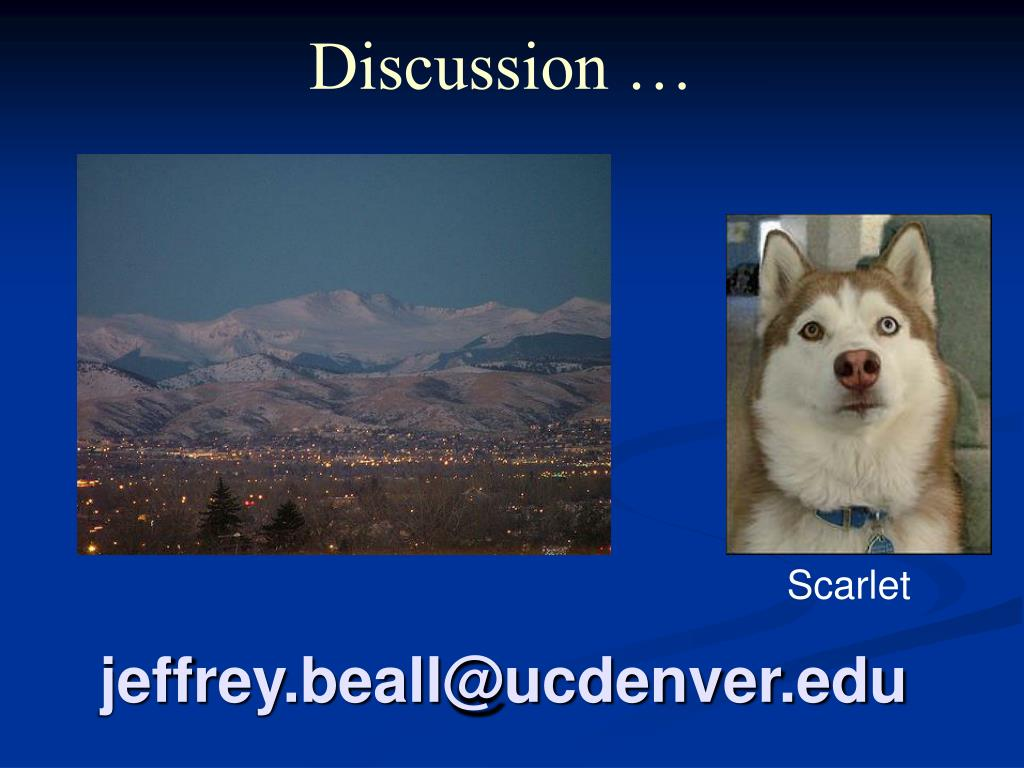 jeffrey.beall@ucdenver.edu