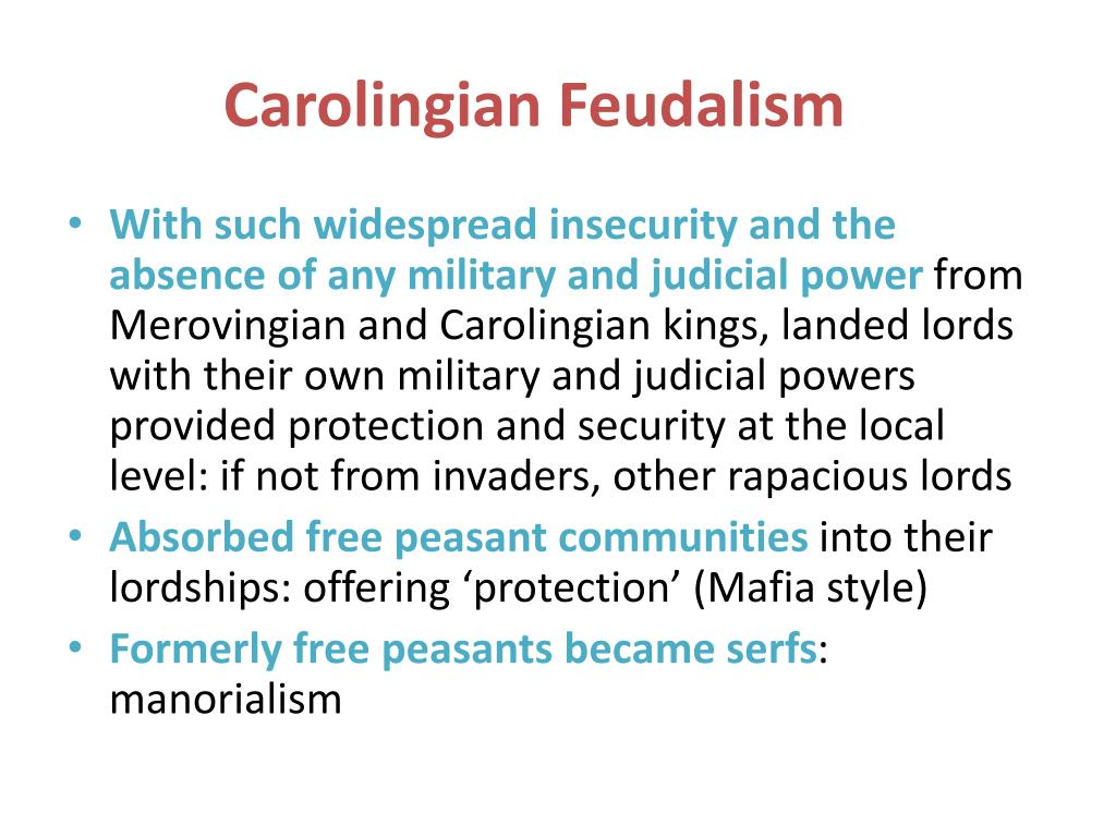 Carolingian Feudalism