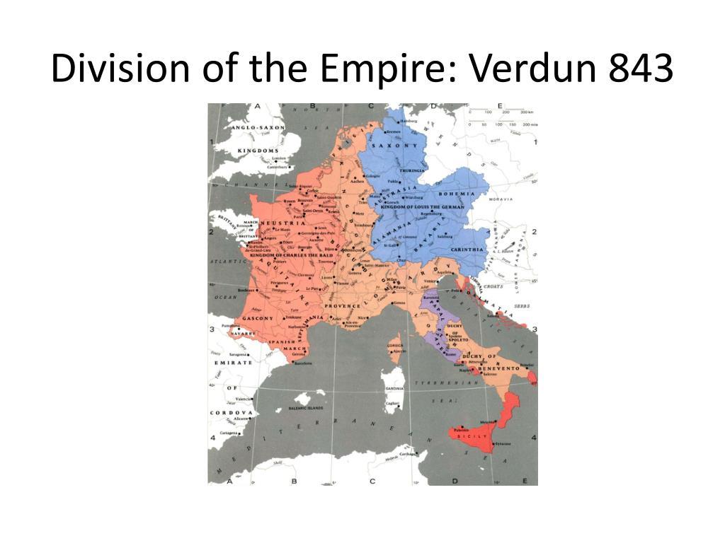 Division of the Empire: Verdun 843