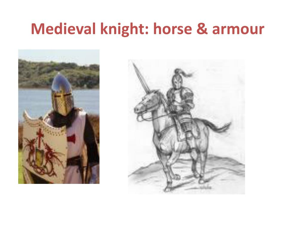 Medieval knight: horse &