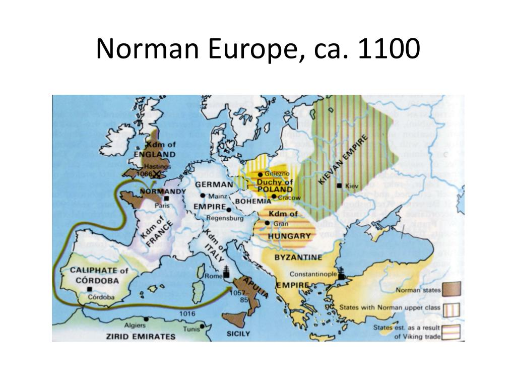 Norman Europe, ca. 1100