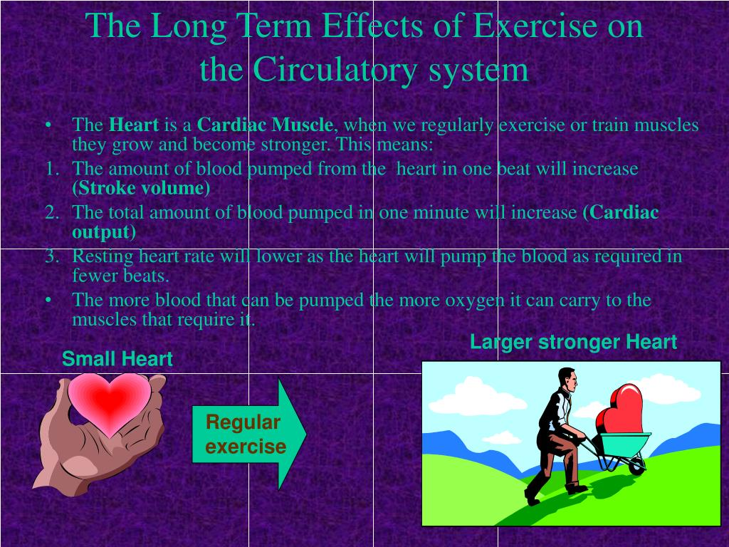 effects of regular exercise essay Exercise: cause and effect essays (a) underline the cause and highlight its effect in each of the following sentences 1 after the dog bit.