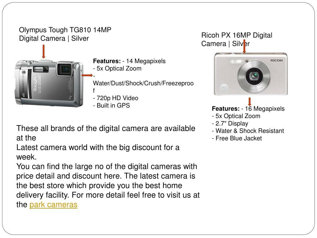 Olympus Tough TG810 14MP Digital Camera | Silver