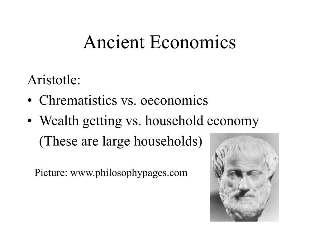 Ancient Economics