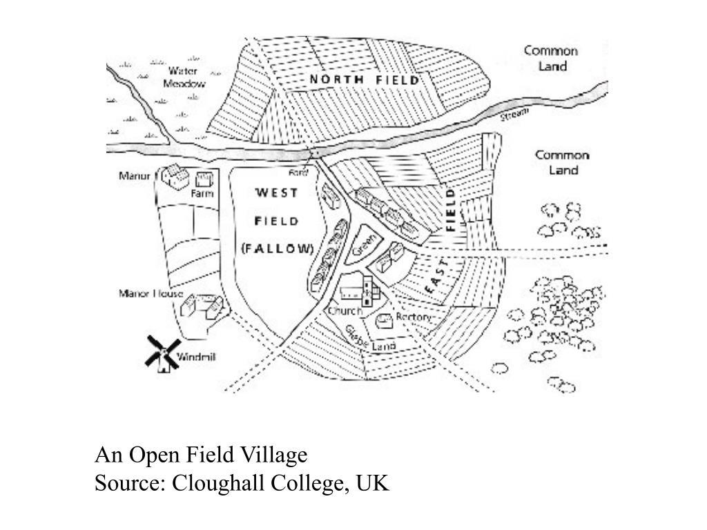 An Open Field Village