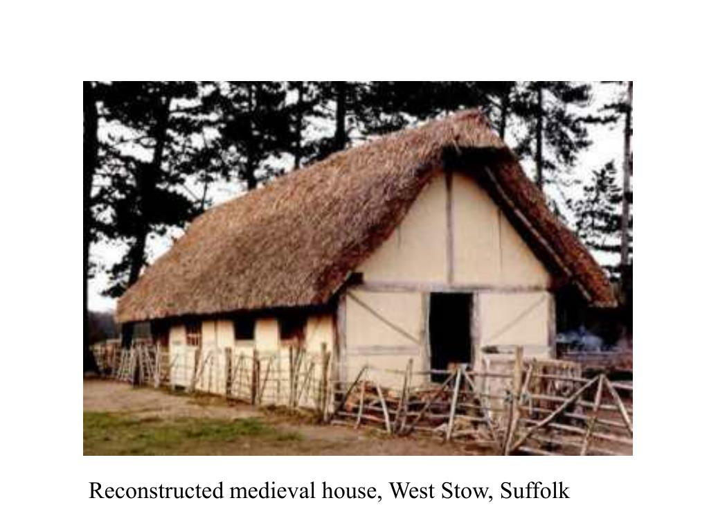 Reconstructed medieval house, West Stow, Suffolk