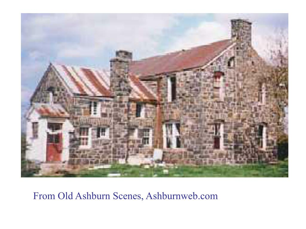 From Old Ashburn Scenes, Ashburnweb.com
