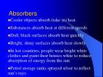 absorbers