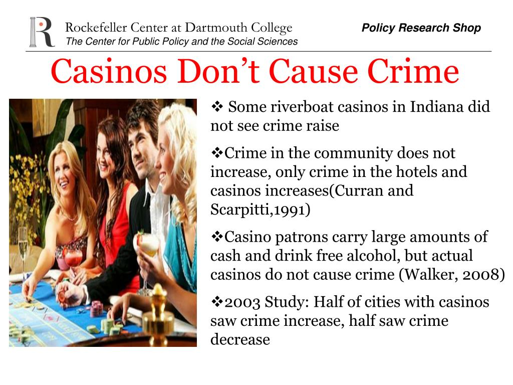 Casinos Don't Cause Crime