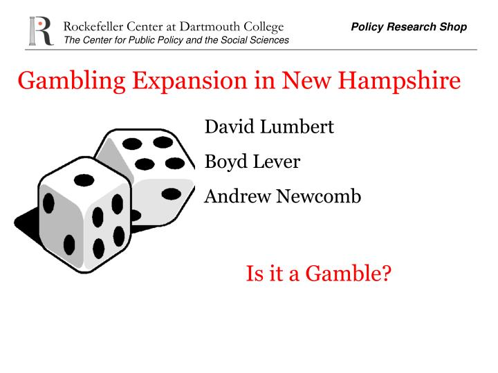 Gambling Expansion in New Hampshire