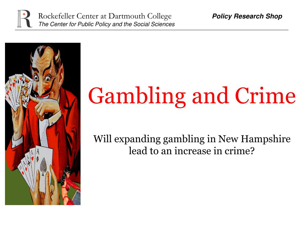 Gambling and Crime