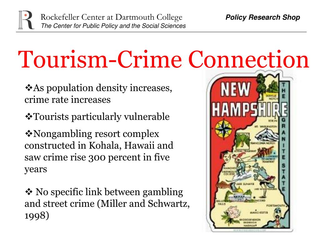 Tourism-Crime Connection
