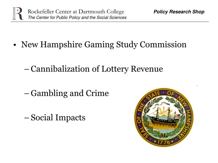 New Hampshire Gaming Study Commission
