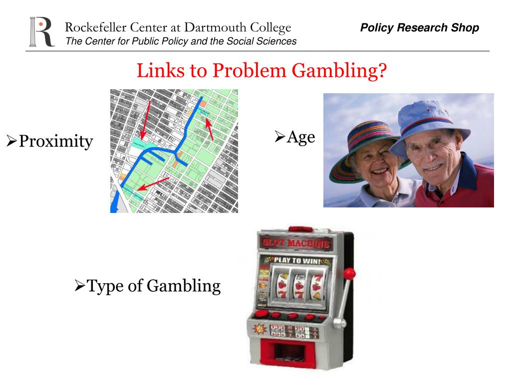Links to Problem Gambling?