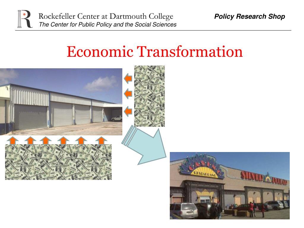 Economic Transformation