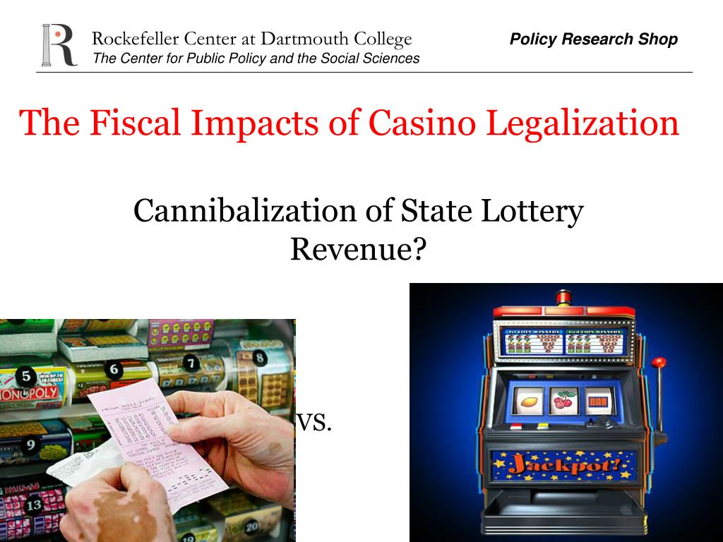 The Fiscal Impacts of Casino Legalization