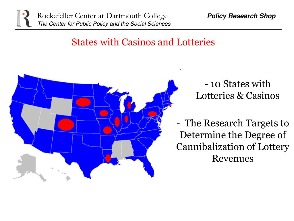 States with Casinos and Lotteries