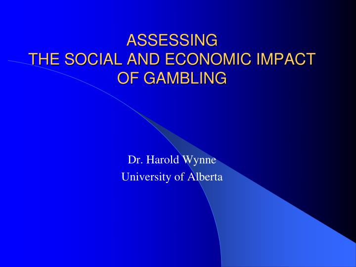 Economic impact by gambling casinos and biloxi