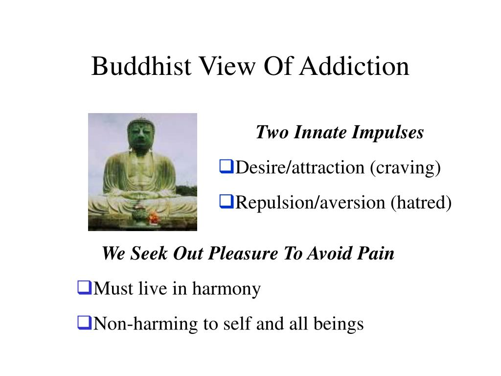 Buddhist View Of Addiction