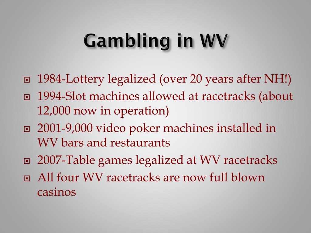 Gambling in WV
