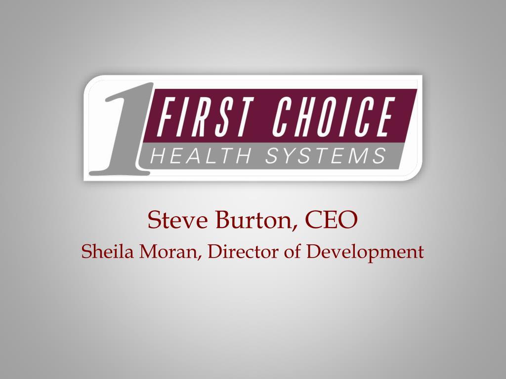 Steve Burton, CEO