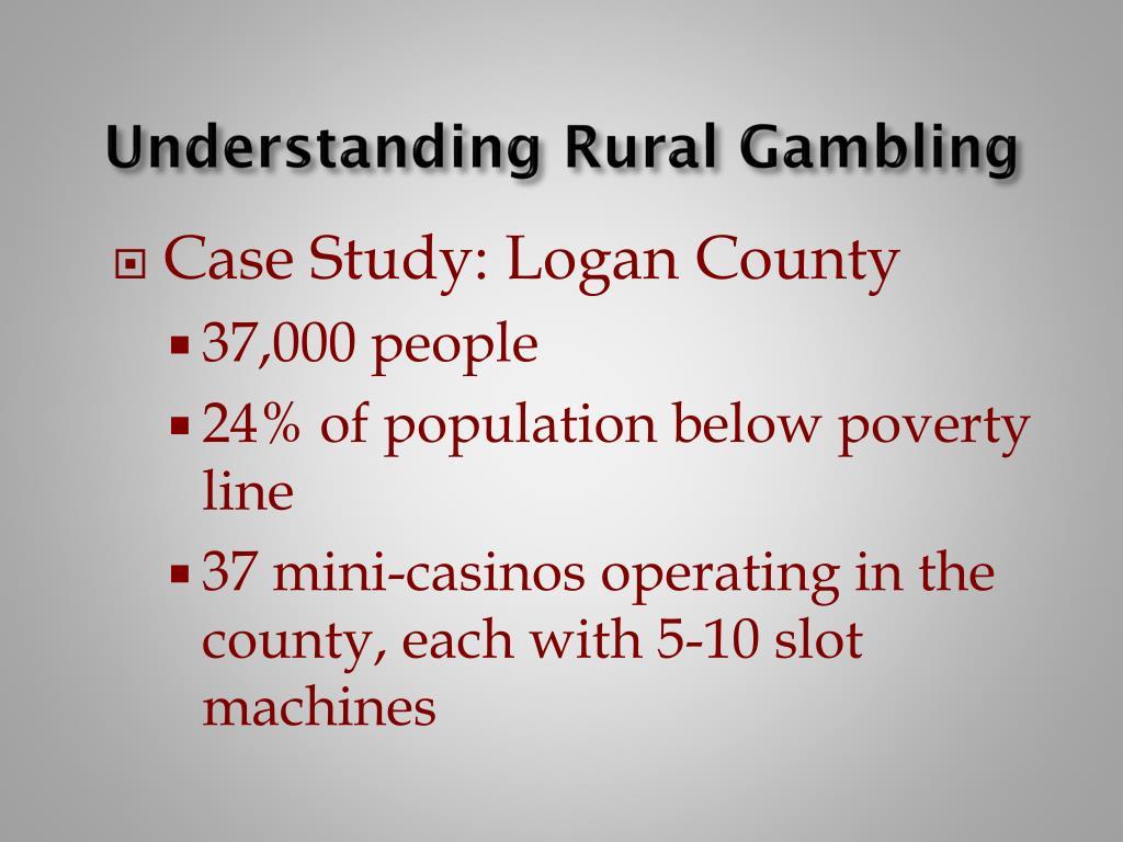Understanding Rural Gambling