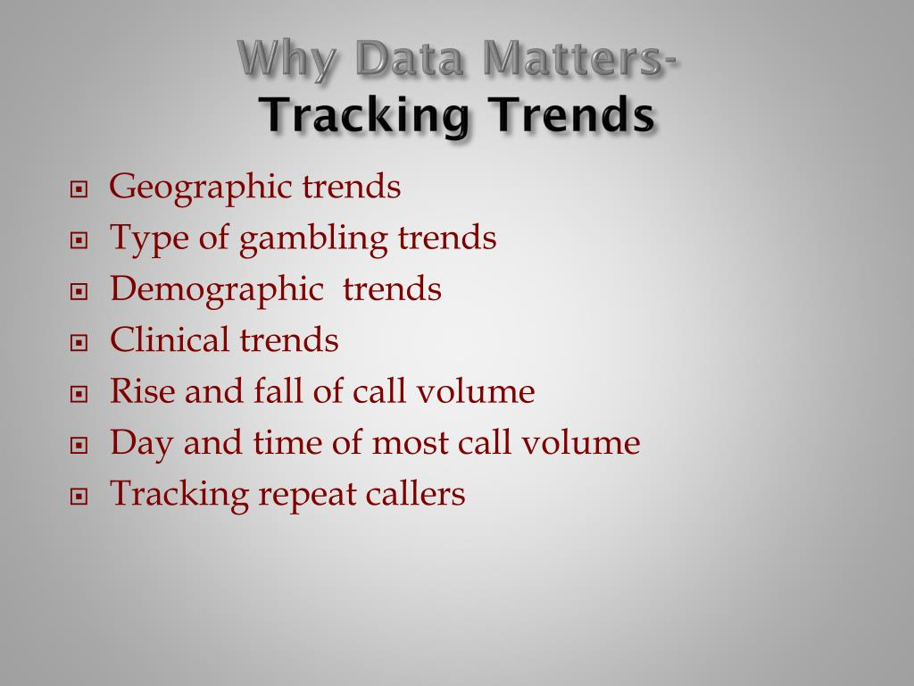 Why Data Matters-