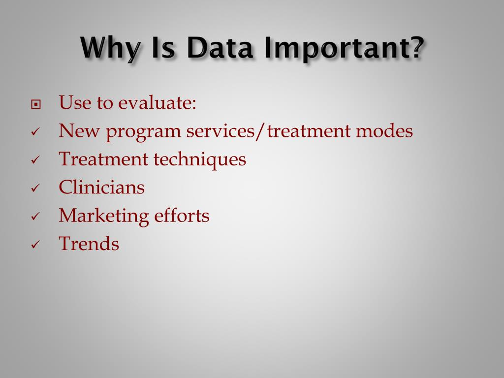 Why Is Data Important?