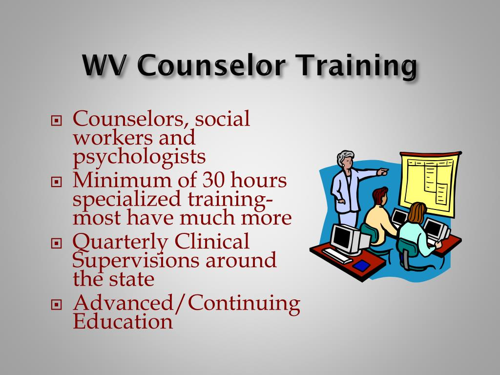 WV Counselor Training