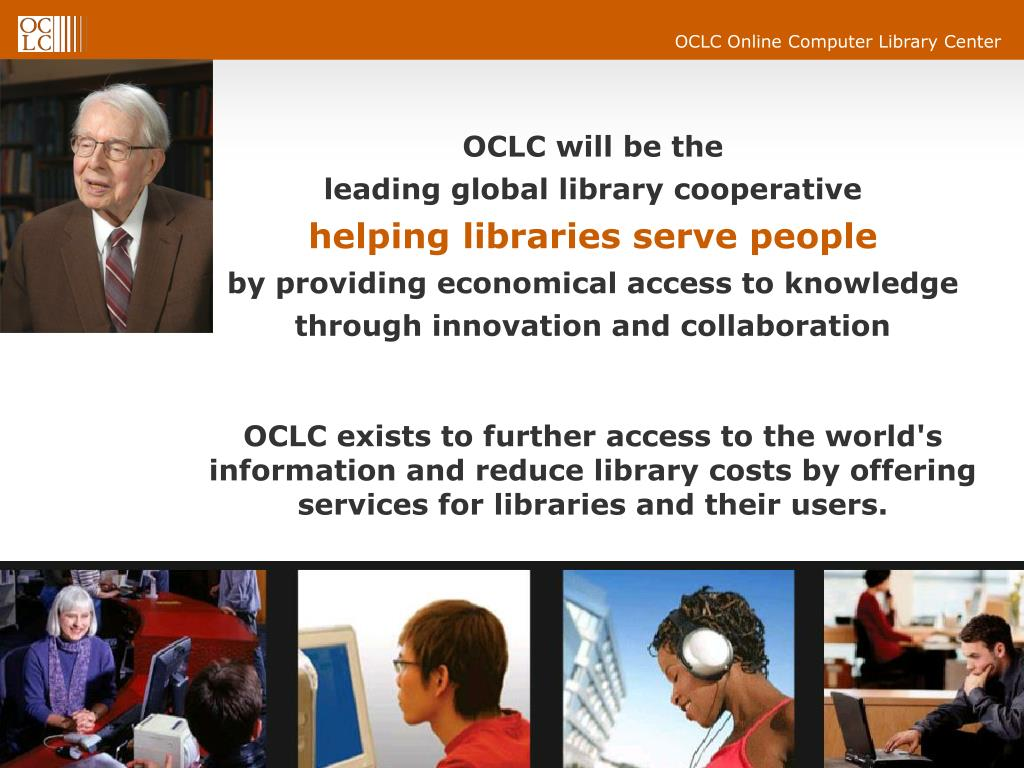 OCLC will be the
