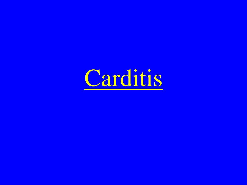 Carditis