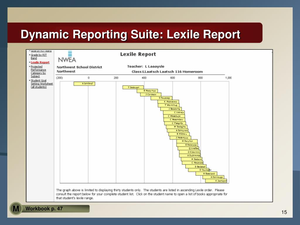 Dynamic Reporting Suite: