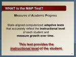 what is the map test