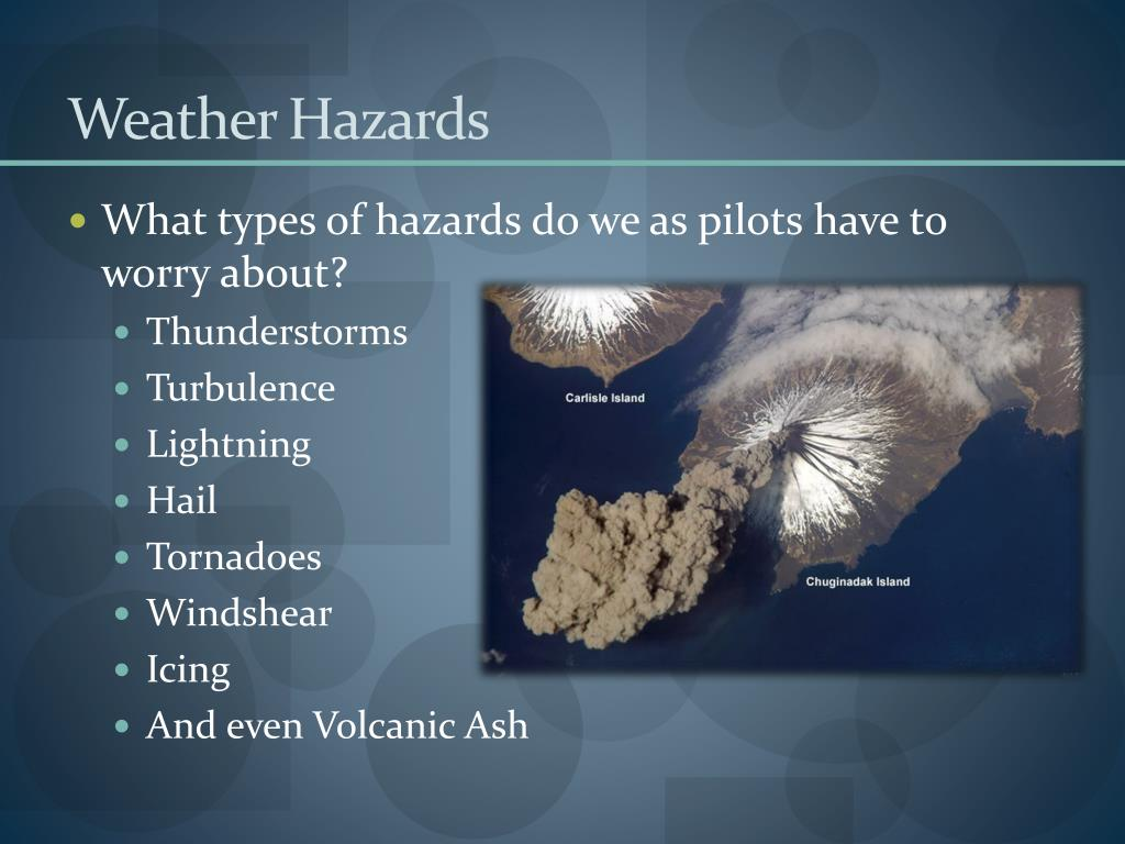 Weather Hazards