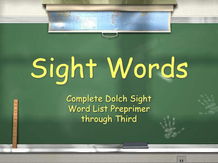Sight words l.jpg
