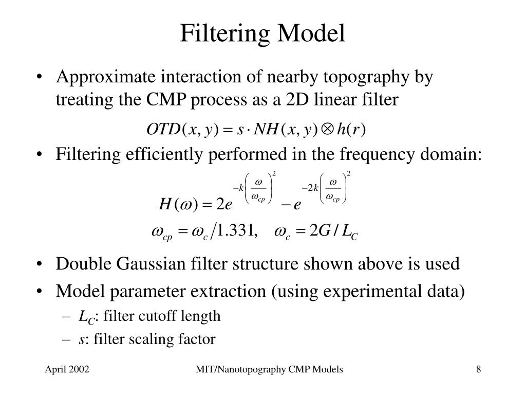Filtering Model