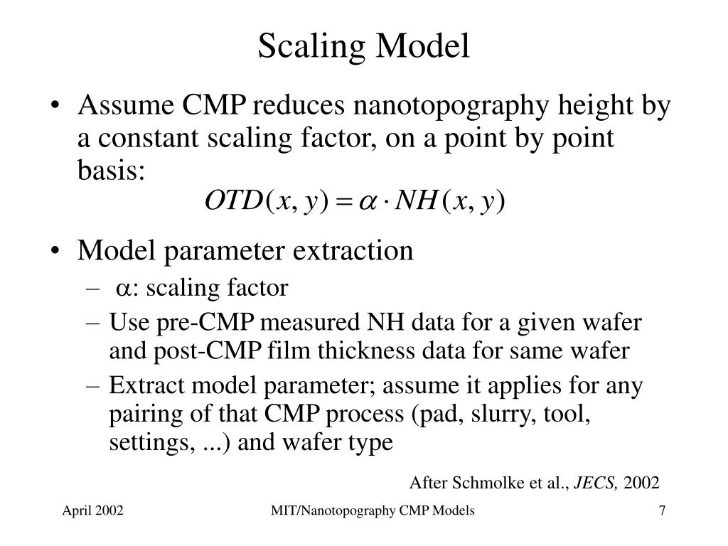 Scaling Model