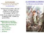 1er misterio glorioso la resurrecci n del se or