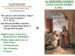 1er misterio gozoso la encarnaci n del hijo de dios